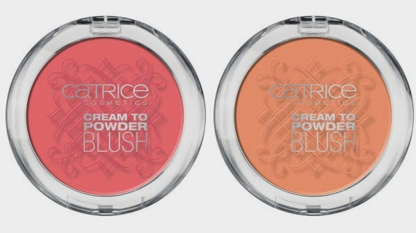 Celtica by CATRICE – Cream To Powder Blush  C01 Pinkadoxa und C02 Love, Peach & Harmony