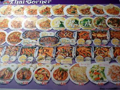 precios comida malasia