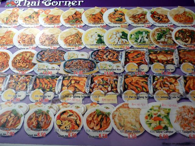 Que comer en Kuala Lumpur (Malasia) Food court
