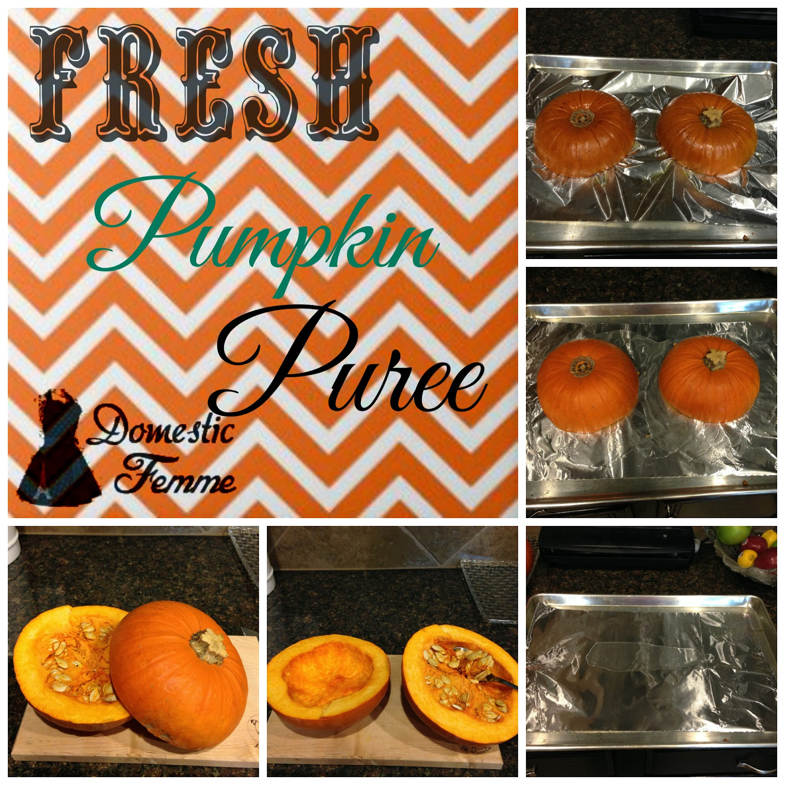 Domestic Femme Thanksgiving Favorites Fresh Pumpkin Pie
