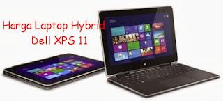 Harga Laptop Hybrid Dell XPS 11