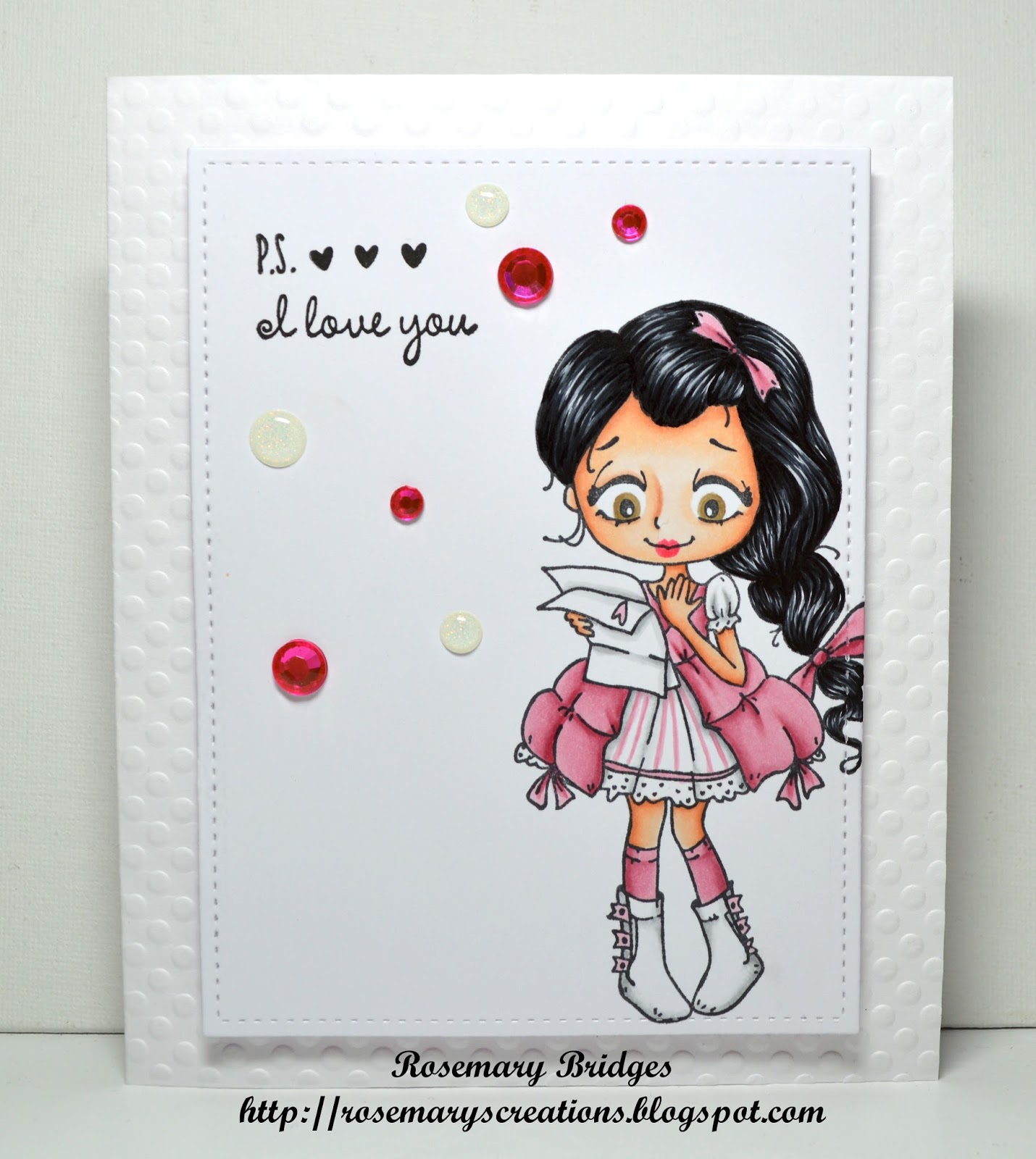 Rosemarys Creations The Greeting Farmdollie With Letter