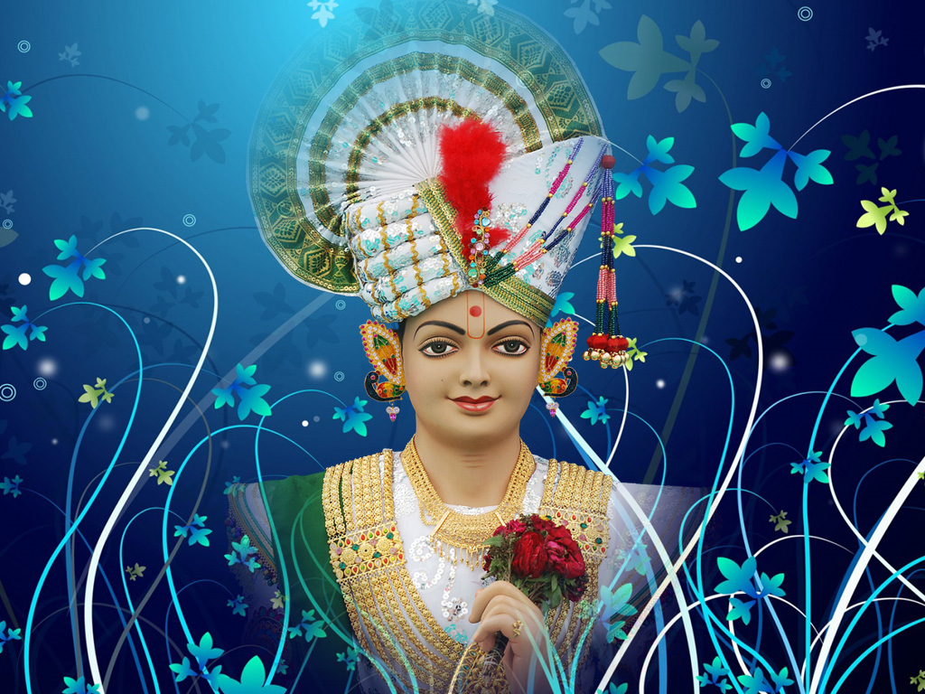 Swaminarayan Wide Screen Hd Wallpaper Ghnshyam Maharaj Wallpaperbhagavan