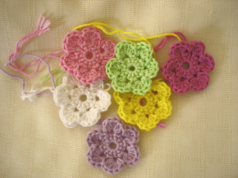 Is It A Toy Crochet Doodle Flowers Free Pattern