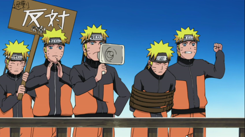 Naruto Shippuden 230 Revenge of the Shadow Clones