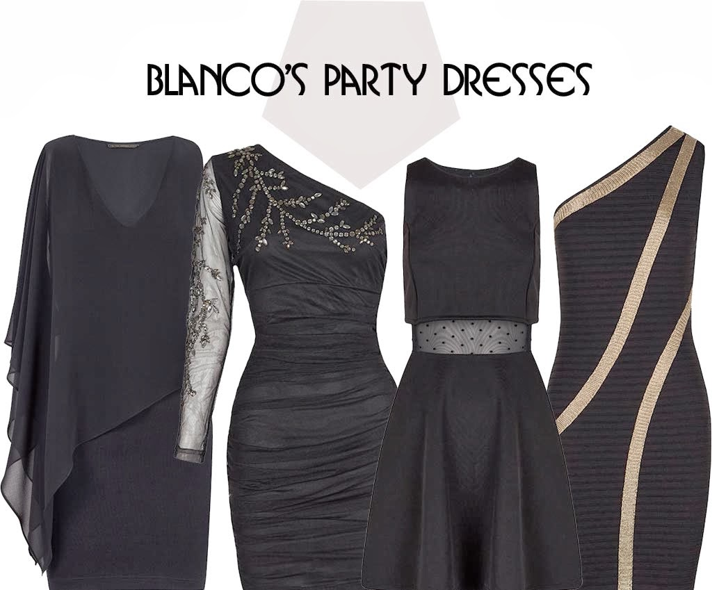 Blanco's Black Party Dress Winter 2013