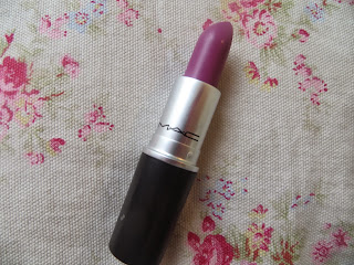 MAC, Up The Amp, Purple, Lipstick, Review, Blogger, Pretty,