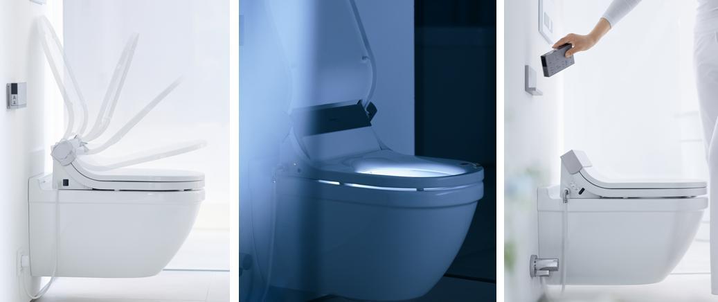 Starck 39 in blog starck sensowash - Lunette toilette chauffante ...
