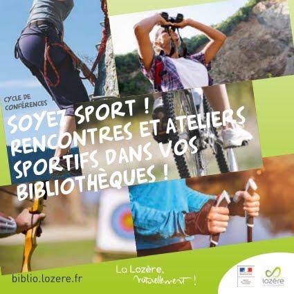 Cycle de conférences Sport et bibliothèque en Lozère