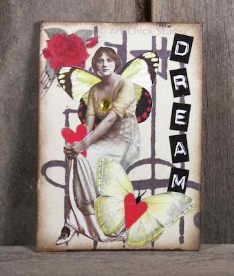Dream Altered Art ATC