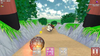 Screenshots of the Goro Goro hero for Android tablet, phone.