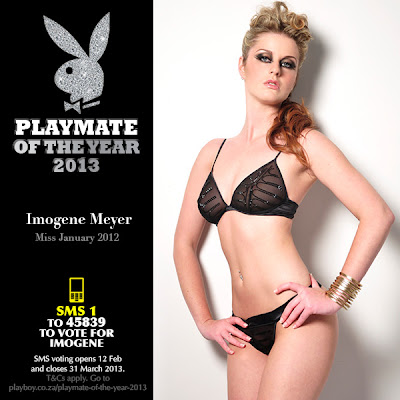 SMS 1 to 45839 to vote for Imogene Meyer