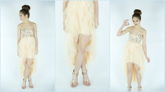 Beautyliciousinsider prom dress