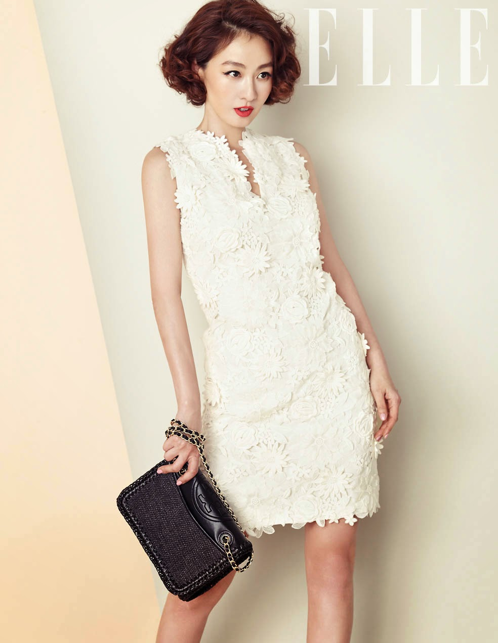 Lee Mi Yeon - Elle Magazine April Issue 2014
