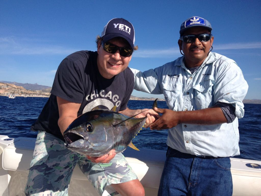 Baja anglers jon crossman has super fishing with us for Jon b fishing