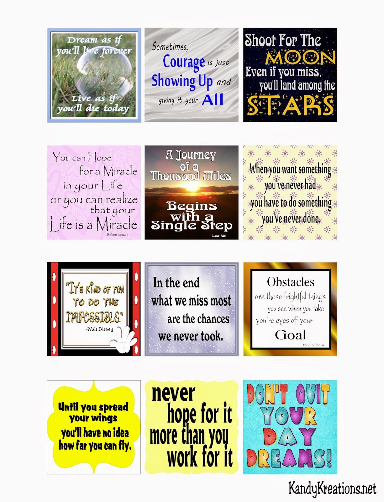 Encouragement Quote Lunchbox Notes to help your kids through the rough times in life and school