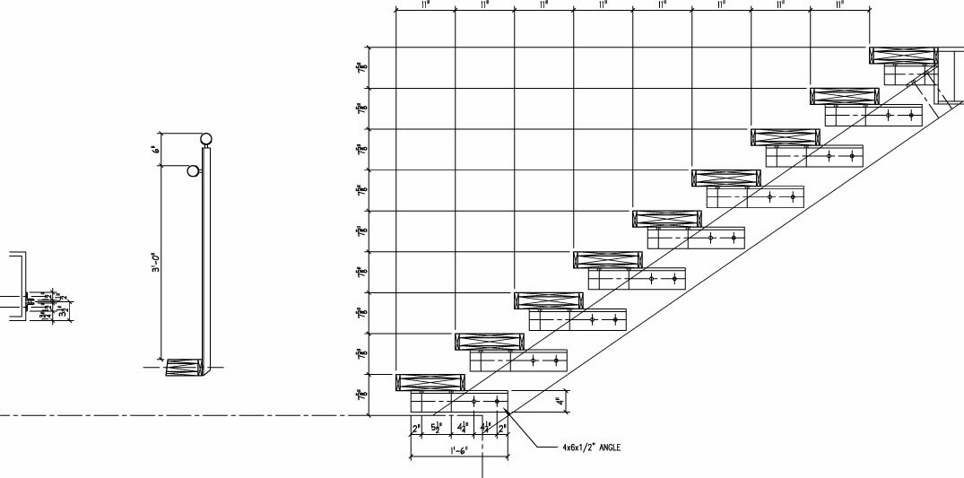 Custom stairs the design and decision process building for Stair design code