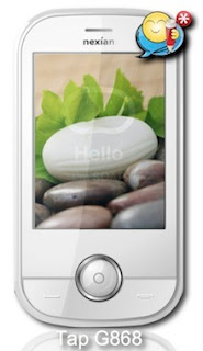 Nexian Hikmah NX G868 Touch screen