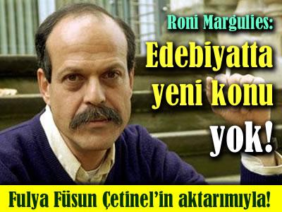 Roni Margulies Notos yaratıcı yazarlık atölyesine konuk oldu