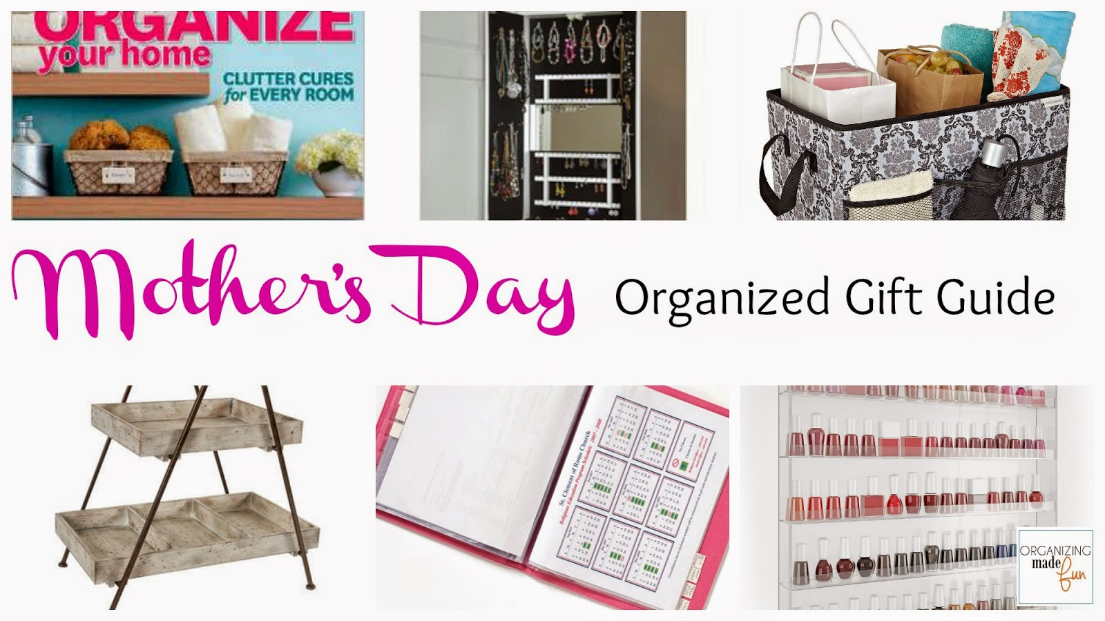 A Mother's Day Organized Gift Guide :: OrganizingMadeFun.com