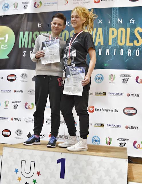 Mistrzostwa, k-1, sport, sporty walki, Legnica, Ewa Boś