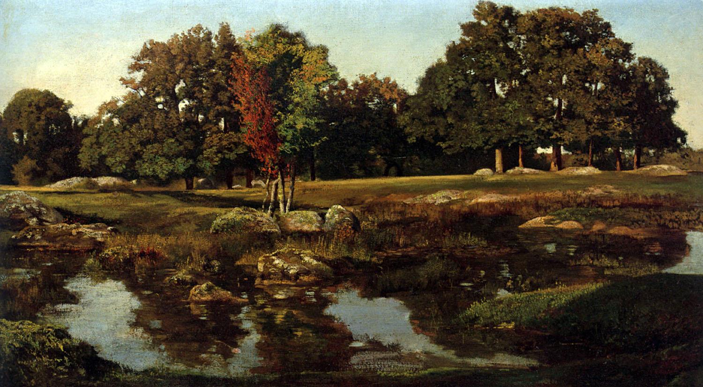 Fontainebleau-Photo: Théodore Rousseau, le peintre qui ... Theodore Rousseau
