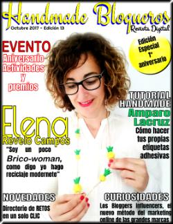 Publicación en revista Handmade Blogueros