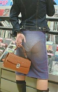 transparent skirts illusion