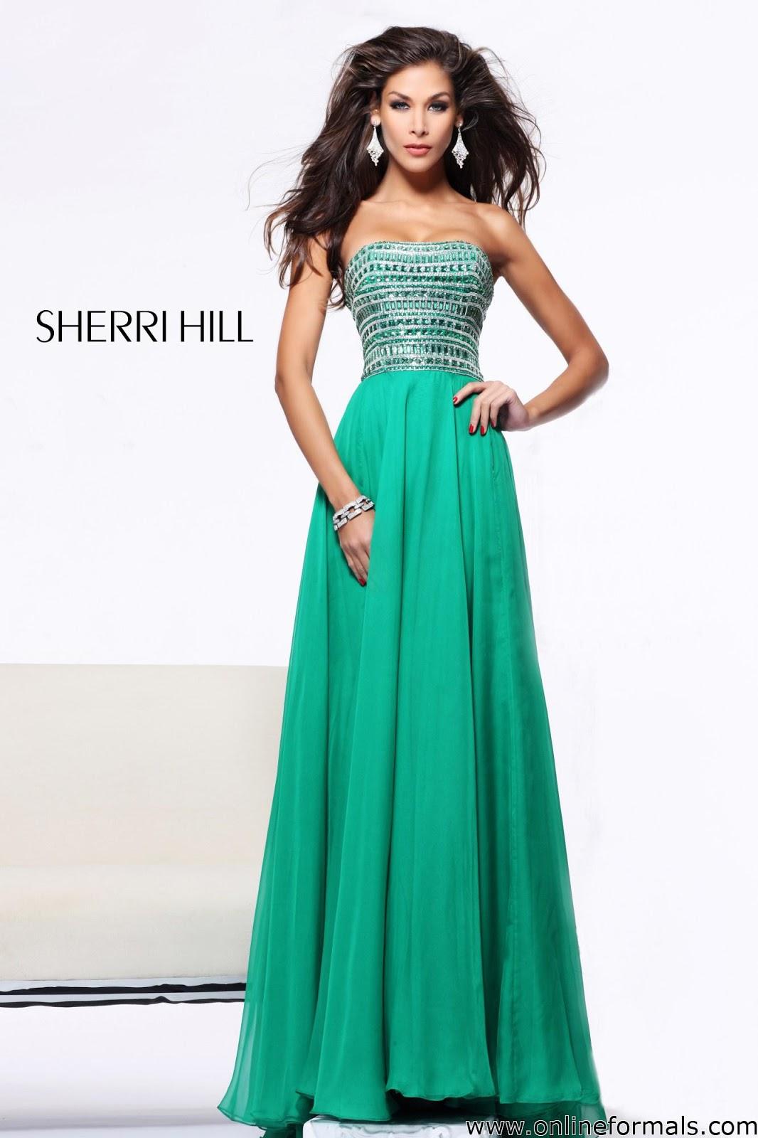 The Fashion Blog!: Sherri Hill 1539
