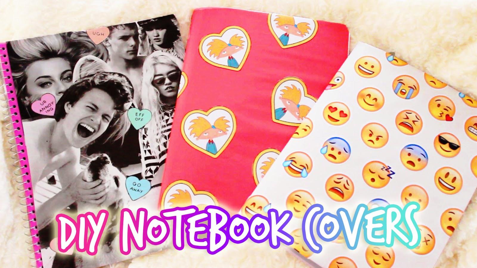 Diy Emoji Book Cover : Hellomaphie diy tumblr notebook back to school