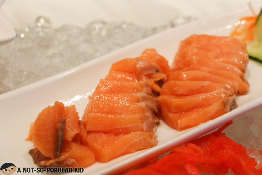 Fresh Salmon Sashimi of Vikings