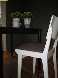 Stol i hvitt