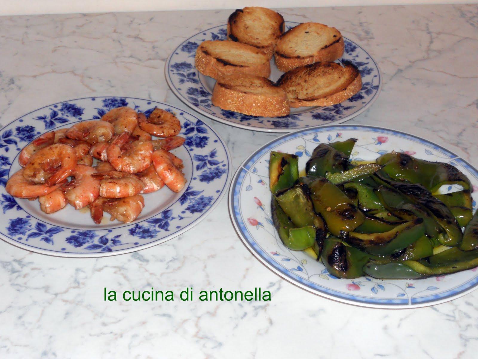 La cucina di antonella gazpacho per accompagnare i gamberoni - La cucina di antonella ...