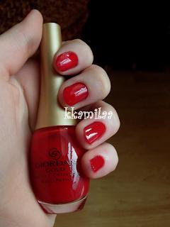 Oriflame Giordani Gold - Crimson