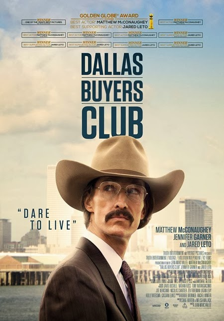 dallas buyers club 71st golden globe awards