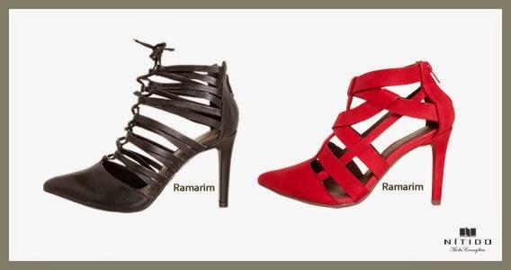 Sapatos faixas