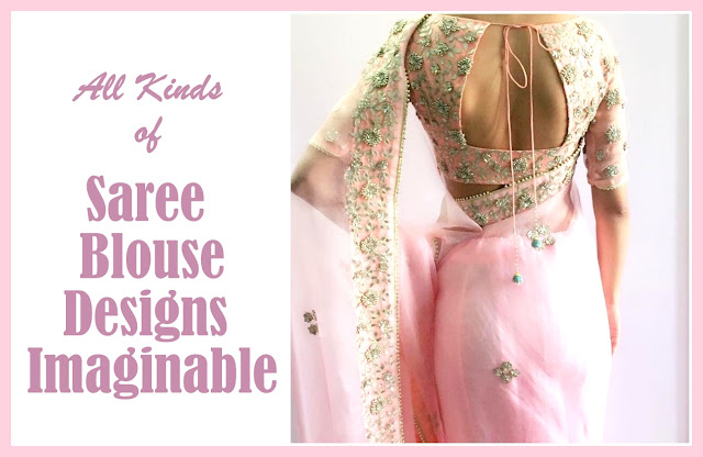 Different Types Of Saree Blouse Styles on Latest Different Styles Of Writing