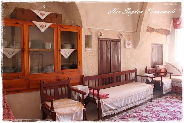 Hacı Abdullah Bay Konağı, odalardan biri