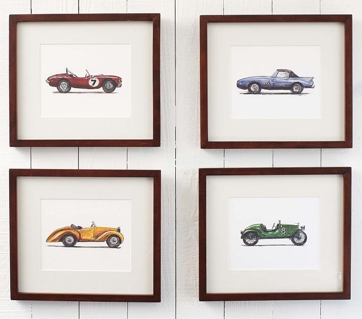 Vintage Car Wall Decor at Home and Interior Design Ideas