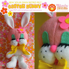 Retro Easter Bunny Sewing Pattern