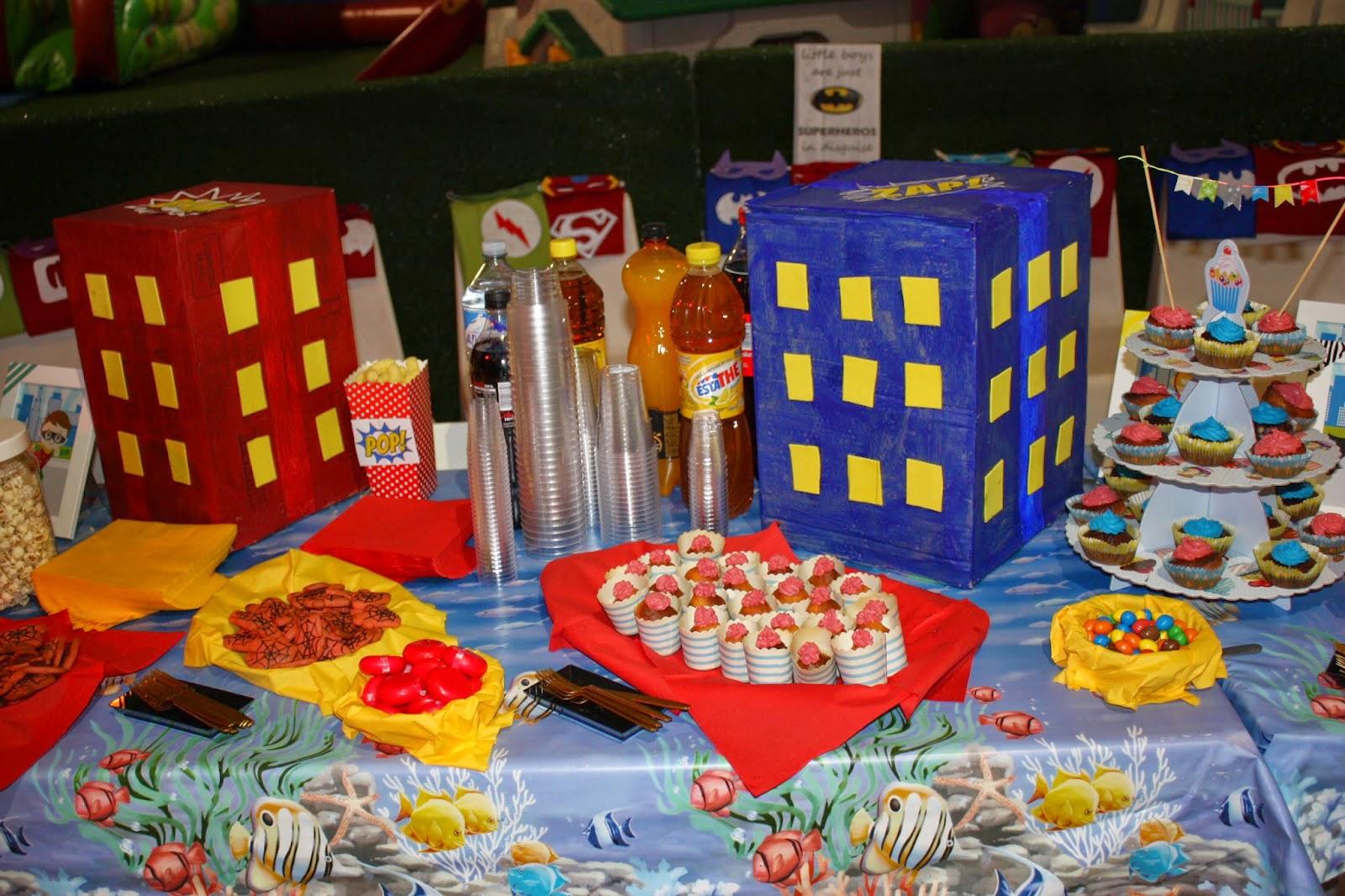 Top La Casin@ di Ale: superhero party: festa a tema super eroi per  ZC47