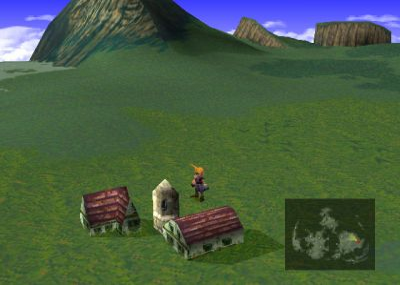 Final Fantasy 7 world map