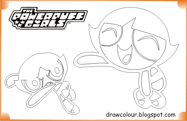printable-the_powerpuff_girls-buttercup-coloring-pages