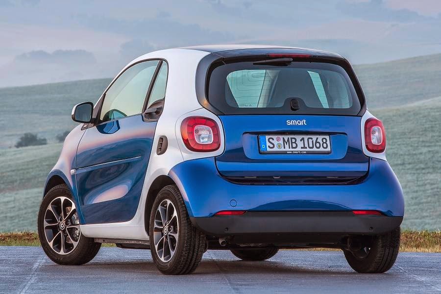 Smart ForTwo Coupé (2015) Rear Side