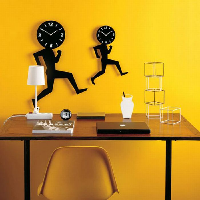 Cool Contemporary Clock Designs Indian House Plans