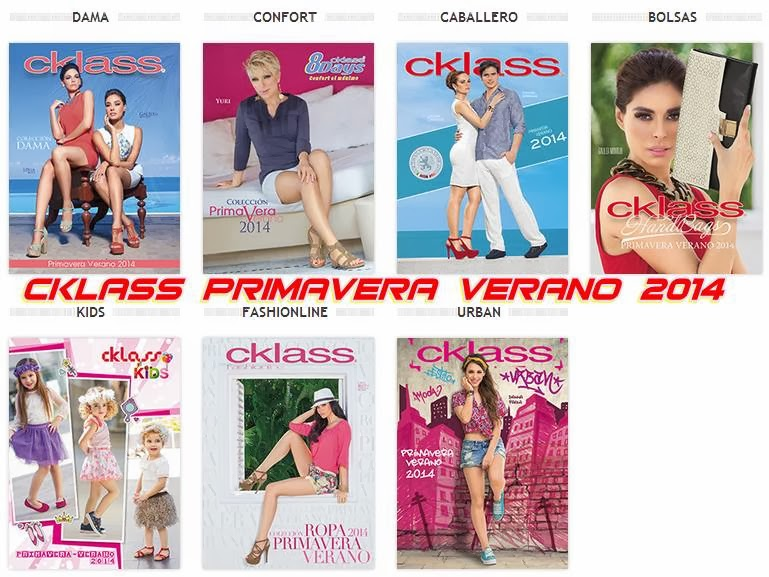 cklass catalogos primavera verano 2014