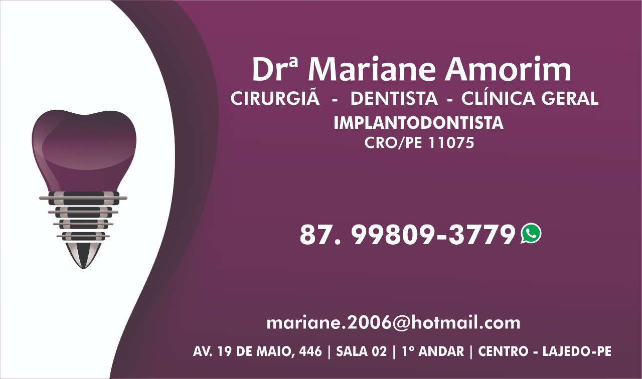 Drª Mariane Amorim