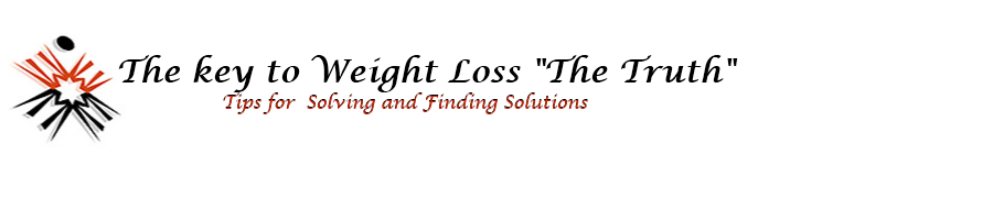 """The key to Weight Loss """"The Truth"""""""