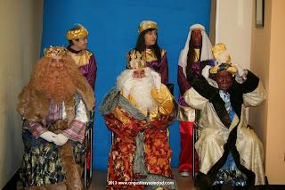 Reyes magos en Leon