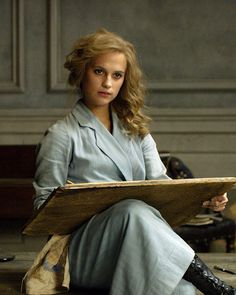 "Alicia Vikander in  ""Danish Girl"""
